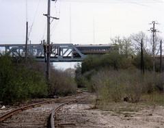 CNW lead Skokie 8-7-78 (jsmatlak) Tags: chicago cta l elevated subway rapid transit metro train electric railway