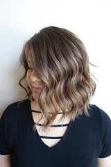 Check out this balayage and cut by Tish!