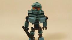 LEGO Spartan Fred (Jesusfreak110102) Tags: lego halo spartan fred minifig minifigure