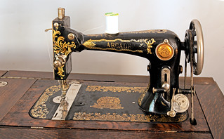 Sunshine Society treadle sewing machine