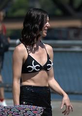 Good Old Summertime (Scott 97006) Tags: woman parade mermaid starfish pretty lady female