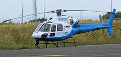 AIRBUS HELICOPTERS AS355  G-RIDA NEWCASTLE AIRPORT (toowoomba surfer) Tags: helicopter aviation ncl egnt