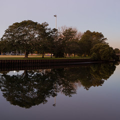 Reflections (Photos By Chris) Tags: reflections trees river cooksriver