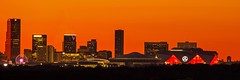 Atlanta Skyline - October 2017 (James J Bell) Tags: skyline georgia atlanta georgiadome mercedesbenz photosbybell sold sunrise landscape cityscape