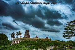 Sri Chandra Choodeshwara Temple, Hosur, Tamilnadu, India (Yesmk Photography) Tags: srichandrachoodeswaratemple hosur tamilnadu india krishnagiri yesmkphotography muthukumar d7200 hill top hilltop nikon clouds sky hindu hindutemple