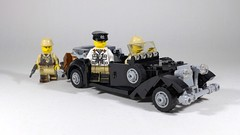 Desert Fox (Rebla) Tags: lego ww2 wwii erwin rommel desert fox mercedesbenz car german tmc brickmania