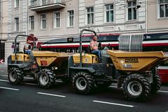salzburg - fuel efficient commuter vehicles :) (relaxedhothead) Tags: fujixt2 xf1855 salzburg bauarbeiter constructionworker fahrzeuge vehicle raw lightroom spritsparend fuel efficient commuter vehicles pendlerverkehr