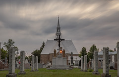 Stare in the Morning Shroud (Kevin Tataryn) Tags: church stmichel longexposure clouds streak nikon d500 1755