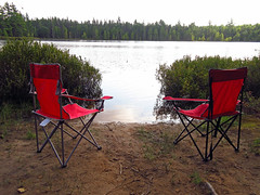 "Three Lakes Campground"" in the Hiawatha National Forest, MI, Campsite 8 (Jack1962) Tags: minnesota wisconsin michigan ontario manitoulinisland madelineisland camping kickingmule usa canada ferry cartrip wikwemikong parks norsile tobermory blogpopolsku kanada blog"