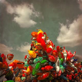 Lotsa balloons