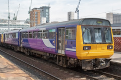 Northern 142038 (Mike McNiven) Tags: leeds salford central southport wigan wallgate manchester victoria northern arriva railnorth pacer diesel dmu