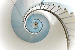 Lyngvig Lighthouse (Fraila) Tags: lyngvig lighthouse fyr vesterhavet jylland denmark trapper spiral spiralstaircase