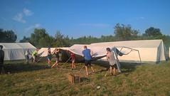 Viele, viele Zelte!