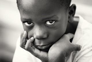 Malawi, boy on Likoma Island