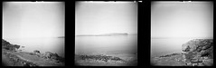 The Isle of Canna (Mark Rowell) Tags: canna sanday rum highlands scotland diana ilford hp5 120 mediumformat lofi blackandwhite panoramic film