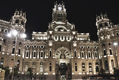 Palacio de Cibeles, Madrid Spain (Gail K E) Tags: palaciodecibeles madrid spain españa architecture beautiful iberia historical