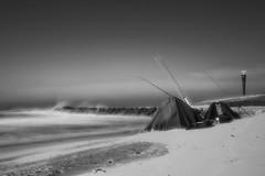 Maasvlakte 2 strand met windkracht 6 (JustJan) Tags: exif:focallength=30mm exif:model=nikond850 geocountry exif:make=nikoncorporation exif:isospeed=64 geostate camera:model=nikond850 exif:aperture=ƒ20 geocity geolocation camera:make=nikoncorporation maasvlakte netherlands beach strand nd nd110 le long exposure spray fishing tents radar tower nikon mono