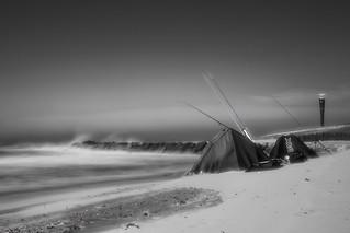Maasvlakte 2 strand met windkracht 6