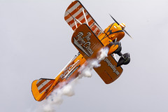 DSC_9635 copy (quintinsmith_ip) Tags: aerosuperbatics flyingcircus 'superstearmans stearmans plane formation flight smoke smoking orange white wingwalkers sunderland 2018