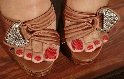 Feet Sunny Lion