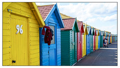 Beach huts with photo session, Whitby (Photography And All That) Tags: whitby yorks yorkshire uk beachhuts beach coast coastal 94 girls photosession colour colours colourful bright hut huts yellow blue green red sony sonyalpha7mark3 sonyilce7m3 sonyalpha ilce7m3 outdoor outdoors summer whitephotoborder streetphotography street pose posing