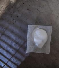 Baking soda (annick vanderschelden) Tags: bakingsoda basic powder white food waxpaper lighteffect pewter sodiumbicarbonate chemical compound nahco3 salt sodium bicarbonate ions solid crystalline whitesolid alkaline cooking bakiung leavening