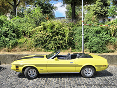 Ford Mustang Mach 1 convertible (linie305) Tags: köln cologne rhein rhine rhineriver germany deutschland car cars auto autos automobil radfahrzeuge kraftfahrzeuge kfz meeting show fahrzeuge vehicles oldtimer oldtimers old vintage classic carshow carmeeting worldcars ford mustang mach1 cabrio cabriolet convertible us usa uscar american