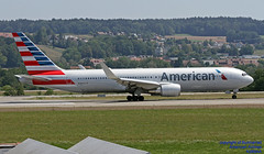 N389AA LSZH 01-08-2018 (Burmarrad (Mark) Camenzuli Thank you for the 13 mi) Tags: airline american airlines aircraft boeing 767323er registration n389aa cn 27449 lszh 01082018