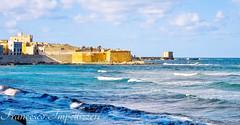 The Sound of the Waves (Francesco Impellizzeri) Tags: trapani sicilia italy canon landscape torre ligny