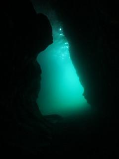 Cavern dive