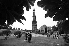 Kutub Minar (Rk Rao) Tags: bw blackandwhite texture kutubminar mesmerising monochrome nature fineart fineartphotography art artistic landscapephotography travel places incredibleindia beauty naturallight rkrao radhakrishnaraoartist rkclicks newdelhi delhi india