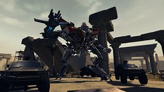 Starscream's Standoff (G1 Colors) (BarricadeCaptures) Tags: transformers transformers2 transformers2game revengeofthefallen revengeofthefallengame rotf rotfgame transformersstarscream starscreamtransformers decepticon starscream decepticonstarscream starscreamg1colors g1colorsstarscream cairoruins cairo egypt ancienthistory gamescreenshots gamephotography videogame screencapture screenshot