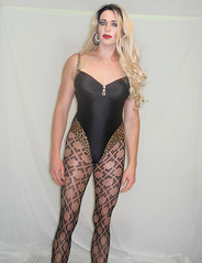 From my latest vdd (queen.catch) Tags: drag queen crossdresser youtuber pantyhose crocket fishnets blackbathingsuit wig makeup femboi c glam hips legs strikeapose genderplay