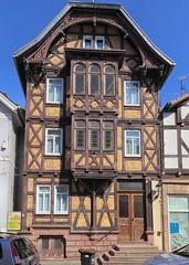 Lauterbach Fachwerk (wernerfunk) Tags: architektur hessen fachwerk