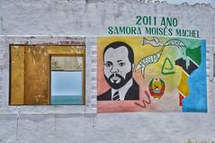 Mural of Samora Machel