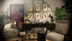 Home Office 2018 (AGodenot) Tags: schultzbros artisanfantasy bazar cheekypea fancydecor collabor88 hive loftaria uber mudhoney nomad nutmeg peaches silas gallery fifty linden fridays buildersbox