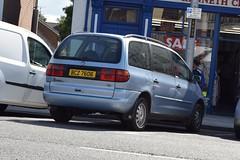 1999 Volkswagen Sharan Se TDI (>Tiarnán 21<) Tags: volkswagen sharan blue 1999 bcz7606 bcz 7606
