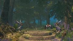 (Jojo Songlark) Tags: firestorm secondlife avatar sl virtualworld secondlife:region=merlin secondlife:parcel=ravenwold secondlife:x=225 secondlife:y=86 secondlife:z=33 angels statues horse