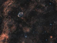NGC6888 wo 2018 , HOO (sudecho) Tags: astrometrydotnet:id=nova2689503 astrometrydotnet:status=solved