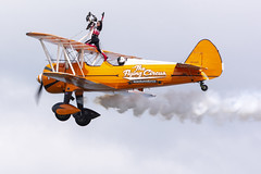 DSC_9723 copy (quintinsmith_ip) Tags: aerosuperbatics flyingcircus 'superstearmans stearmans plane formation flight smoke smoking orange white wingwalkers sunderland 2018