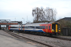 East Midlands Trains Express Sprinter 158858 (Will Swain) Tags: station 6th april 2018 city emt stagecoach group train trains rail railway railways transport travel uk britain vehicle vehicles england english midland midlands east express sprinter 158858 158 858 nottingham nottinghamshire