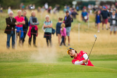 In Gee Chun of Korea during the second round (Ladies European Tour) Tags: chuningeechn lythamstannes england eng