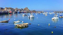 Port de Barfleur (Xtian du Gard) Tags: xtiandugard barfleur contentin normandie france port dock bateaux boats seascape waterscape landscape manche mer marine peinture