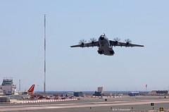 Royal Air Force Airbus Military A400M Atlas C1 ZM411 departing RAF Gibraltar (Mosh70) Tags: gibraltar rafgibraltar rafbrizenorton royalairforce airbusmilitary a400matlas a400matlasc1 zm411