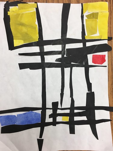 """Every year I get new favorites with this #kindergarten #pietmondrian  inspired painted paper gridded #collage ❤️❤️  They have such an amazing lyricism at this age that I admire so much. Want em all! • <a style=""""font-size:0.8em;"""" href=""""http://www.flickr.com/photos/57802765@N07/43847582552/"""" target=""""_blank"""">View on Flickr</a>"""