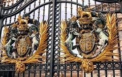 The gate. (natureflower) Tags: gate buckingham palace london