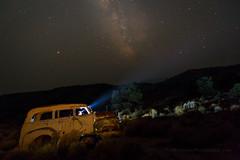 Ready to Roll (Jeffrey Sullivan) Tags: abandoned vehicle ghost town light painting smoke headlamp nevada usa travel night photography canon eos 6d photo copyright august 2018 jeff sullivan