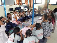 Game playing (rukmini_foundation) Tags: herstory empowerment education girlseducation momsclub nepal globalglow communityempowerment community development