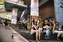 Hot Summer (人間觀察) Tags: leica m240p leicam leicamp f20 f2 hong kong street photography people candid city stranger mp m240 public space walking off finder road travelling trip travel 人 陌生人 街拍 asia girls girl woman 香港 wide open ms optics apoqualiag 28mm apoqualia optical