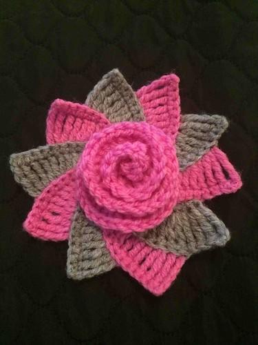 Filet Crochet Flowers Patterns